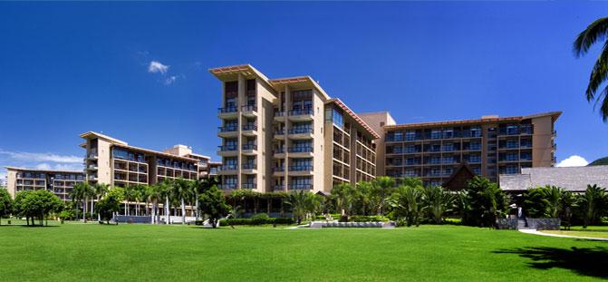三亞亞龍灣紅樹林度假酒店外景