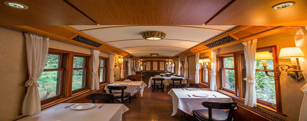 華為美食廣場火車餐廳